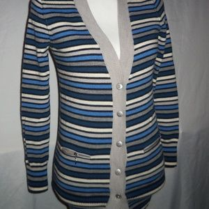 Banana Republic XS Striped Wool Sweater